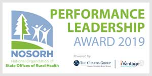 2019 NOSORH Performance Leadership Award logo