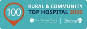 2020 Top 100 Rural & Community Hospital logo
