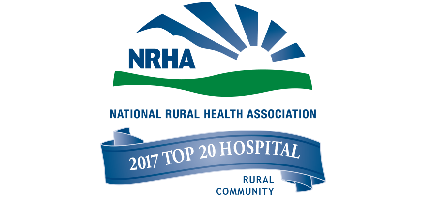 NRHA Top 20 Hospital Badge