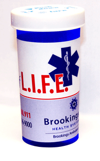 Vial of Life container