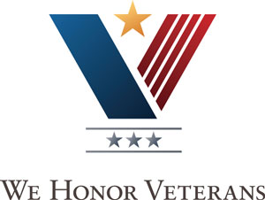 We Honor Veterans badge