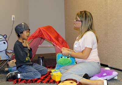Bo Camp Stoel : Seven children complete therapy day camp brookings health system